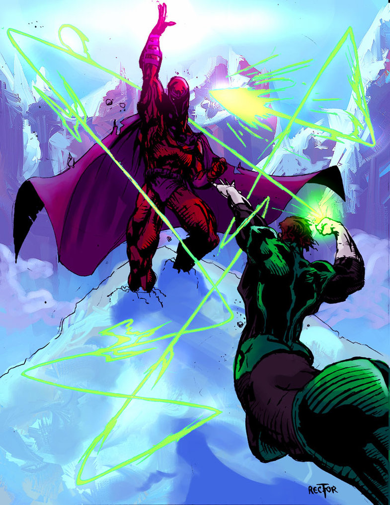 Magneto_VS_Green_Lantern