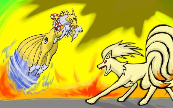 Renamon vs Ninetails