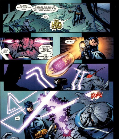 Batman vs Darkseid – DReager1 com