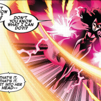 Invisible Woman vs Scarlet Witch