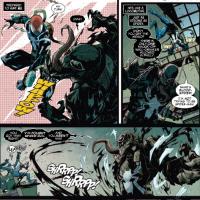 Flash Thompson vs Blood Spider