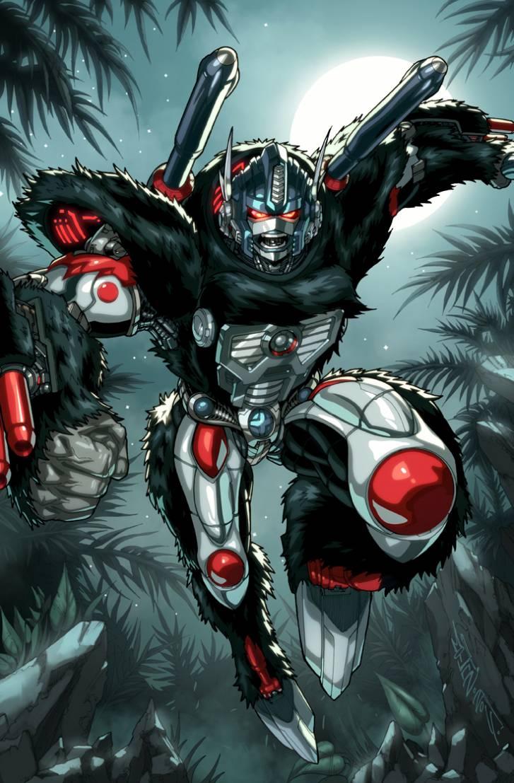 Optimus Primal is The Leader
