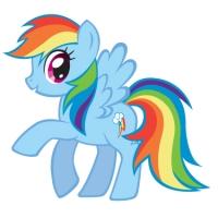 Rainbow Dash vs Wybie Lovat