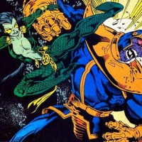 Gamora vs Thanos