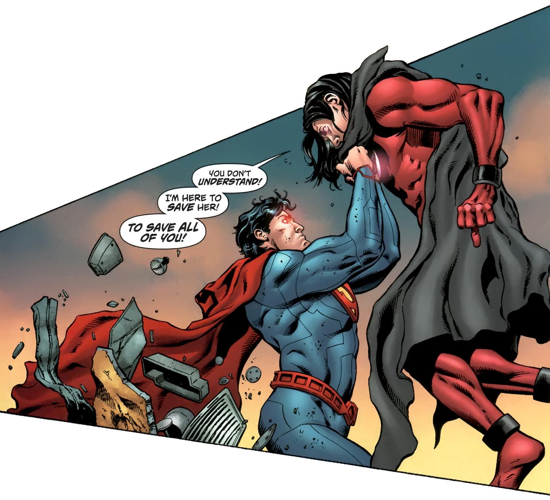 Captain Comet Vs Superman