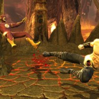 Liu Kang vs Flash (Barry)