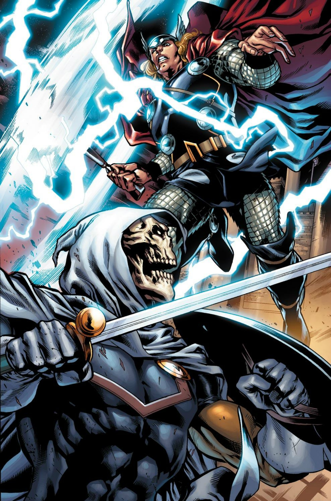 Taskmaster vs Thor | DReager1's Blog