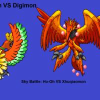 Zhuqiaomon vs Ho-Oh