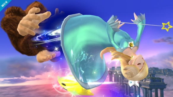 DK is KING OF SWING WITH ROSALINA