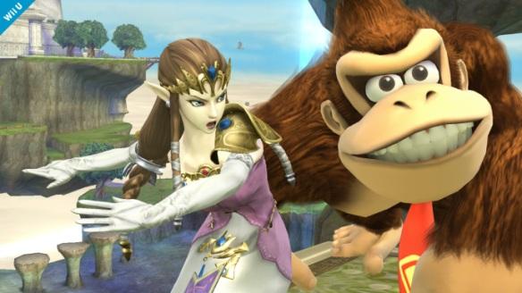 Zelda slaps DK (1)