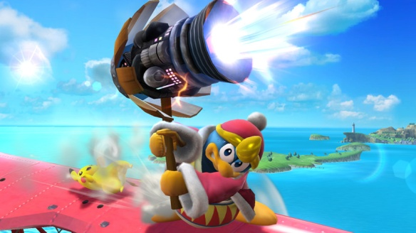 King Dedede vs Pikachu