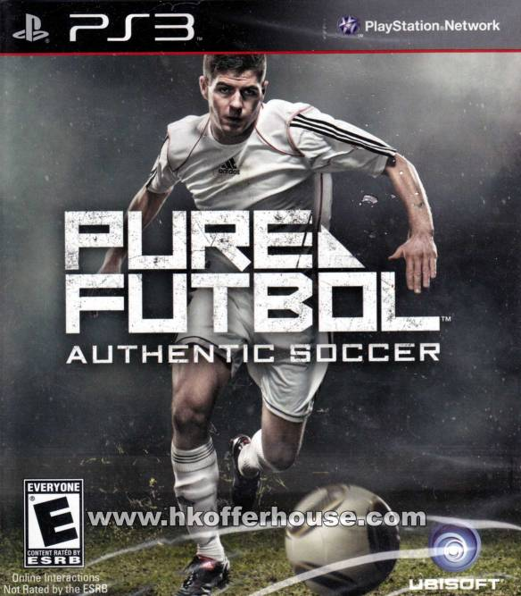 Pure Futbol - U.S Ver. (PS3) cover front 1