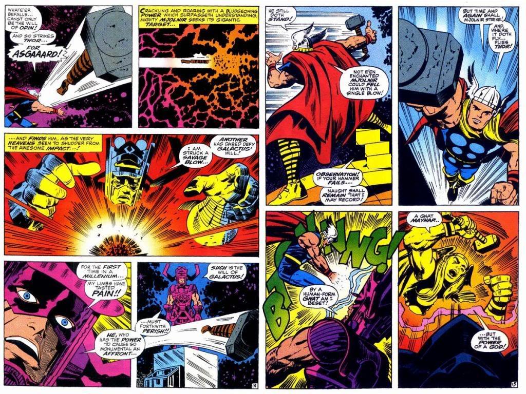 Thor vs Galactus | DReager1's Blog