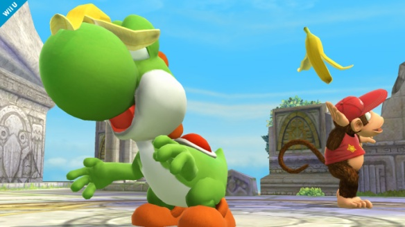 Yoshi and Diddy