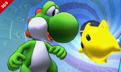 Yoshi and Luma