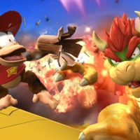 Diddy Kong vs Bowser