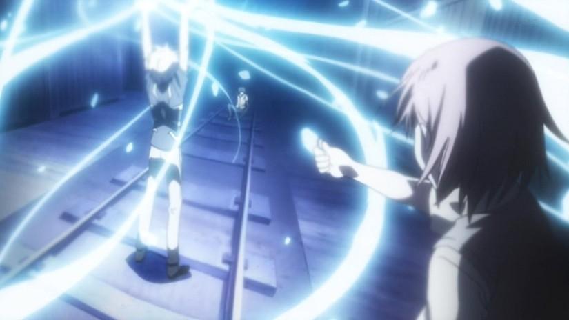 Misaka_prepared_to_attack