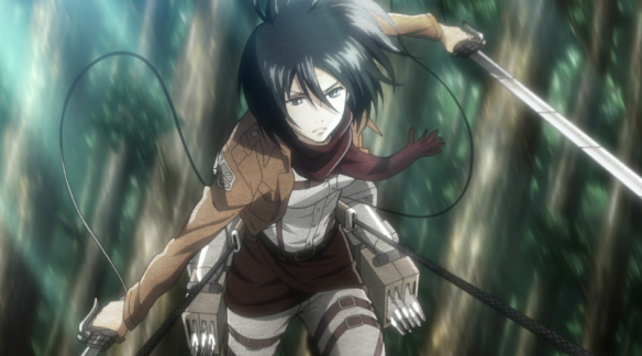 Mikasa-in-Action