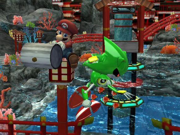 Mario vs Metal Sonic