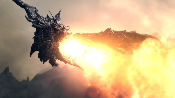 Alduin_Fire_Shout