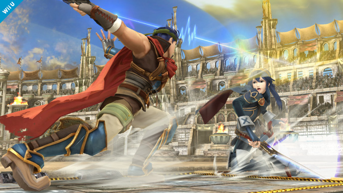 Ike vs Lucina | DReager1's Blog
