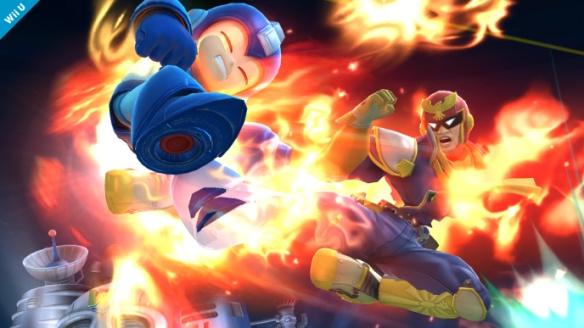 Mega Man Cap Falcon