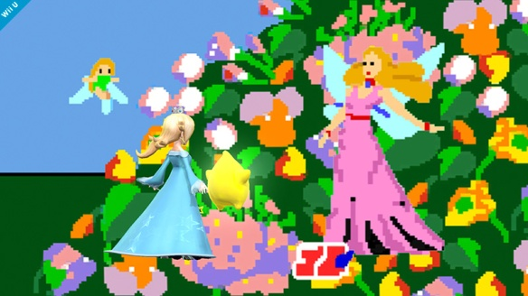 Rosalina vs Fairy Queen