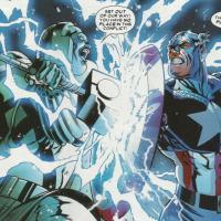 Ronan The Accuser vs Captain America