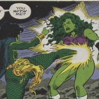 Gamora vs She Hulk