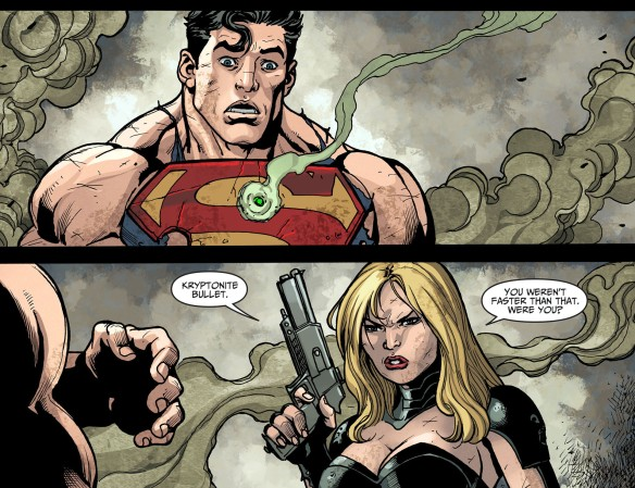 Black Canary vs Superman
