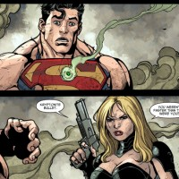 Black Canary vs Superman