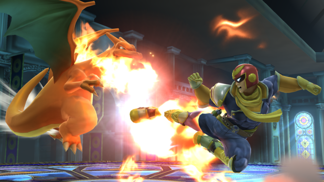 Captain Falcon Charizard