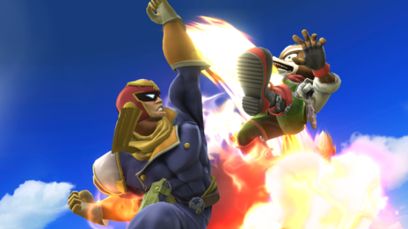 Captain Falcon Fox