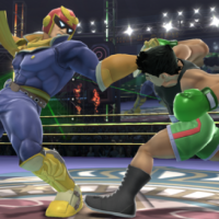 Captain Falcon vs Little Mac
