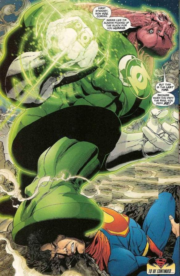 Superman vs Kilowog