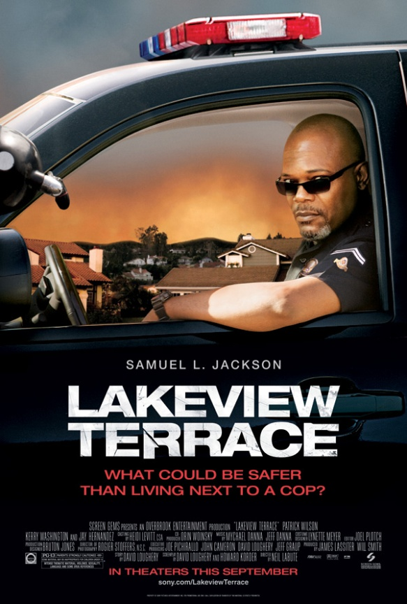 Lakeview Terrace movie poster