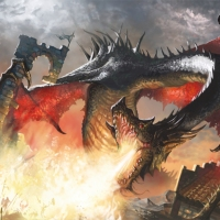 Balerion the Black Dread vs Alucard