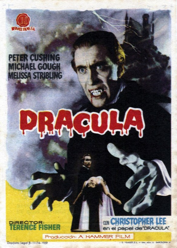 1958 - Drácula - Horror of Dracula - tt0051554 _es
