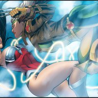 Wonder Woman vs Rogue